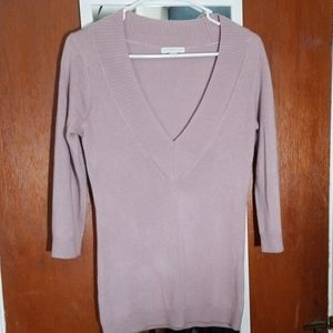 Light Purple 3/4 Sleeve New York & Company sweater